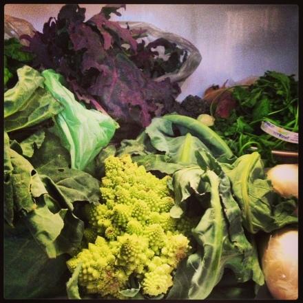 Weekly veggies
