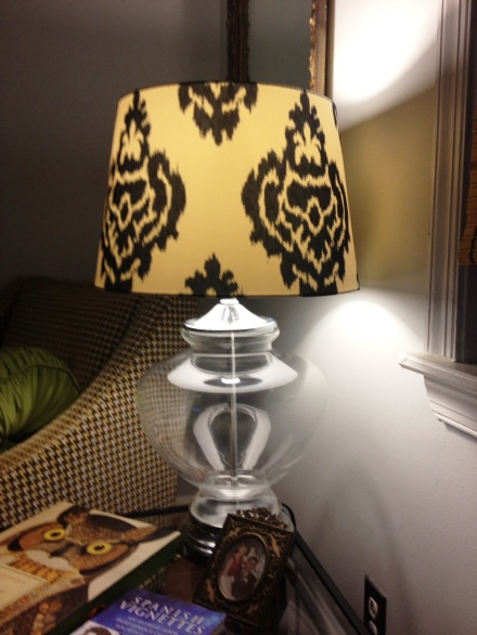 New lamp shades