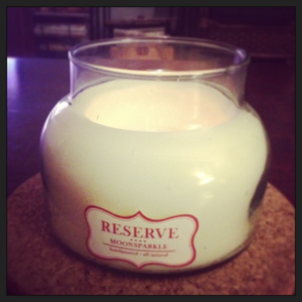 Reserve moonsparkle candle